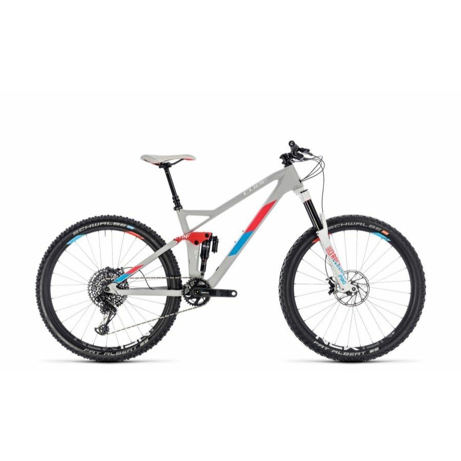 CUBE STING WS 140 HPC SL 27.5 2018 Női Összteleszkópos kerékpár