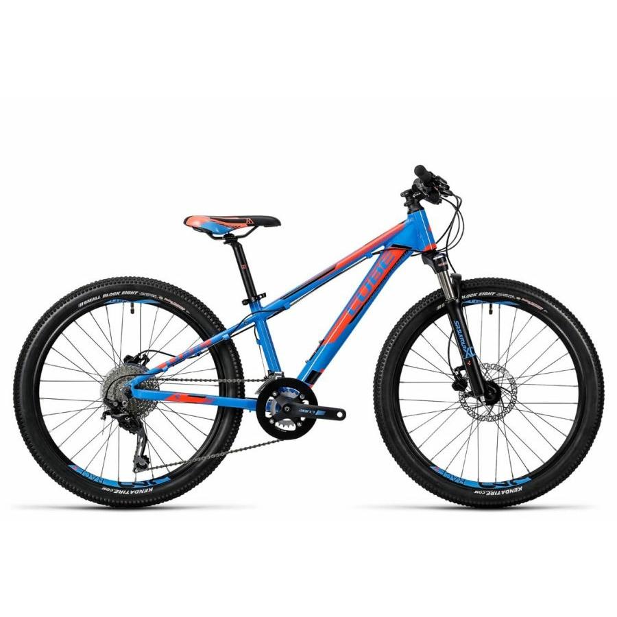 """Cube Kid 240 SL action team blue 2016 24"""" Gyermek Kerékpár"""
