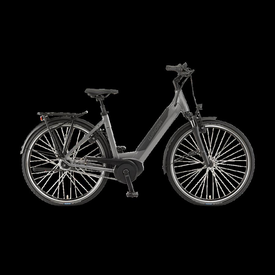 """Winora Sinus iN8 Einrohr i500Wh 28"""" 8-G Nexus  elektromos kerékpár - 2020"""