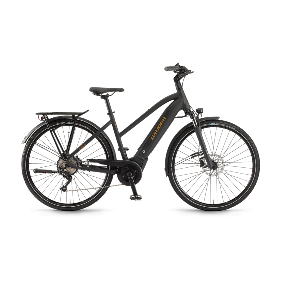 "Winora Sinus i10 Damen i500Wh 28"" 10-G Deore Női elektromos kerékpár - 2020"