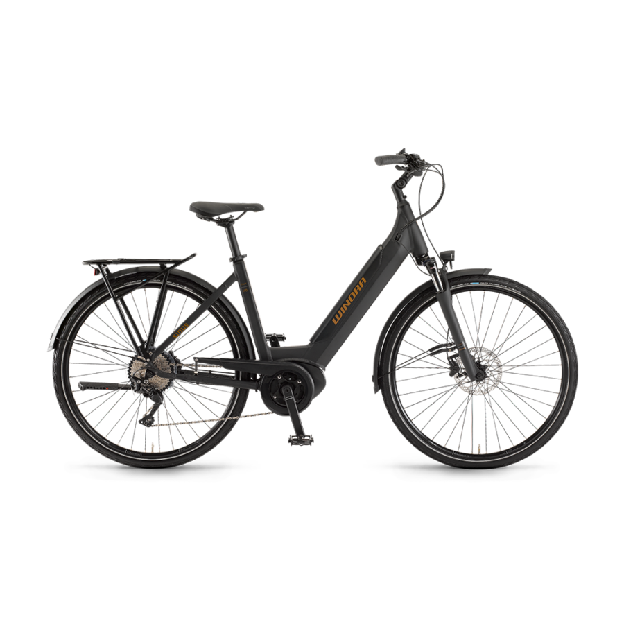 "Winora Sinus i10 Einrohr i500Wh 28"" 10-G Deore  elektromos kerékpár - 2020"