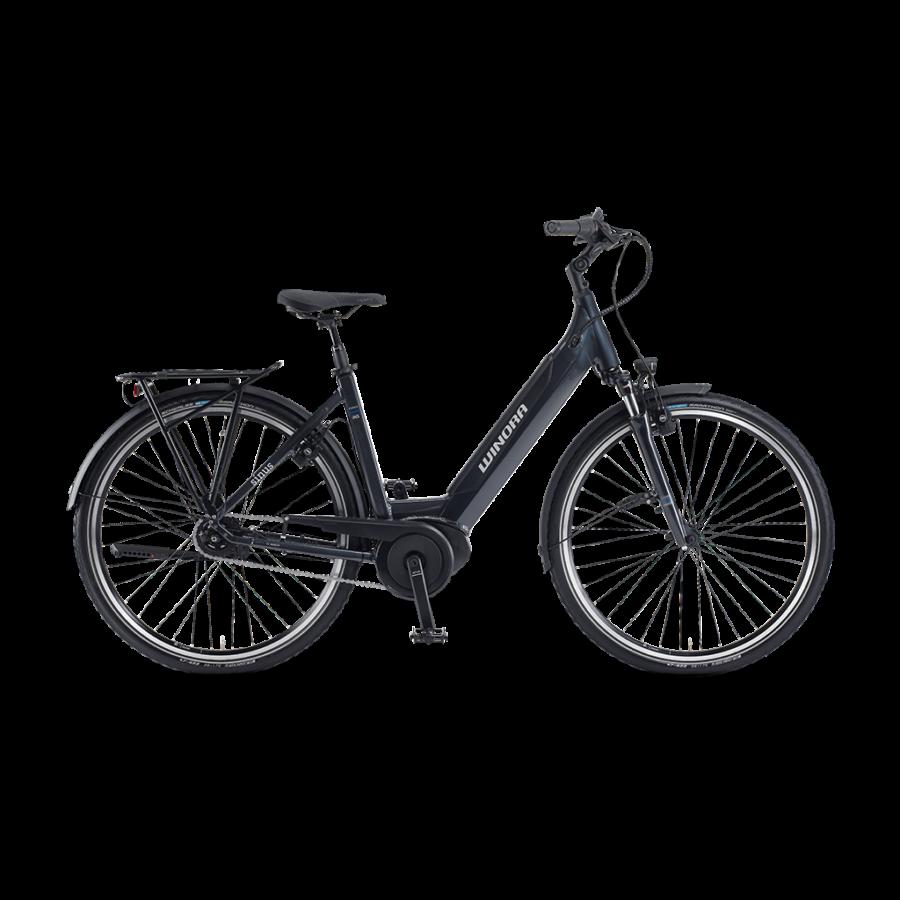 """Winora Sinus iN5 Einrohr i500Wh 26"""" 5-G Nexus  elektromos kerékpár - 2020"""