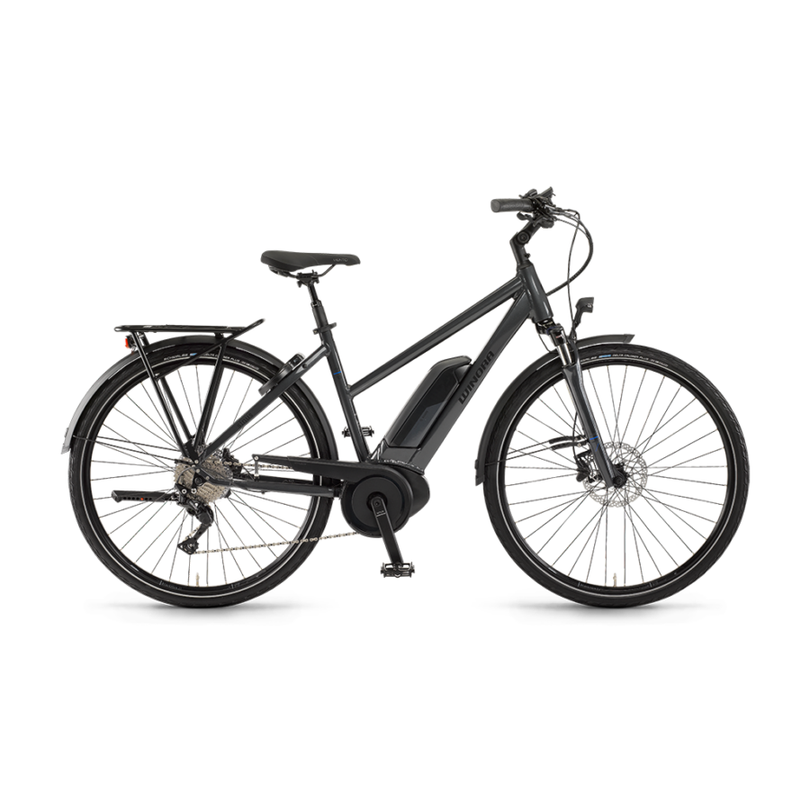 "Winora Tria 10 Damen 500Wh 28"" 10-G Deore Női elektromos kerékpár - 2020"