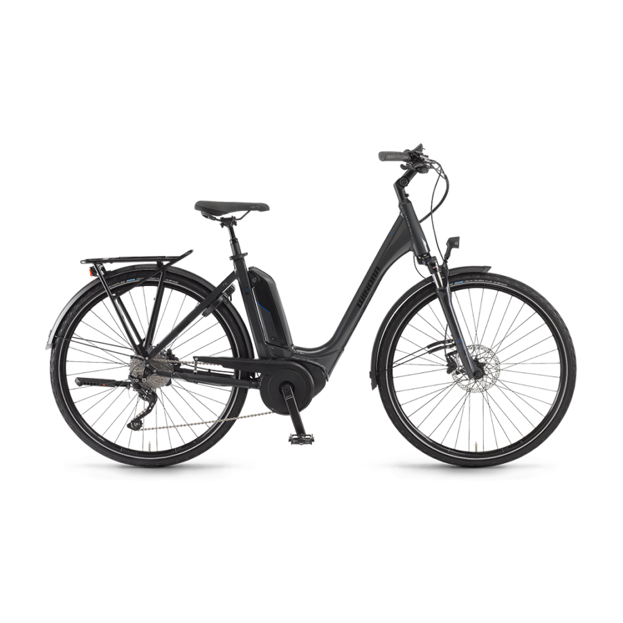 "Winora Tria 10 Einrohr 500Wh 28"" 10-G Deore  elektromos kerékpár - 2020"